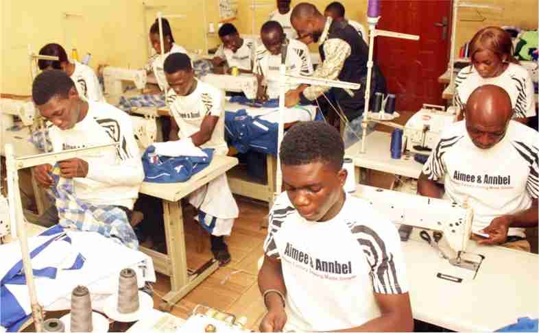 Sewing Factory in Nigeria
